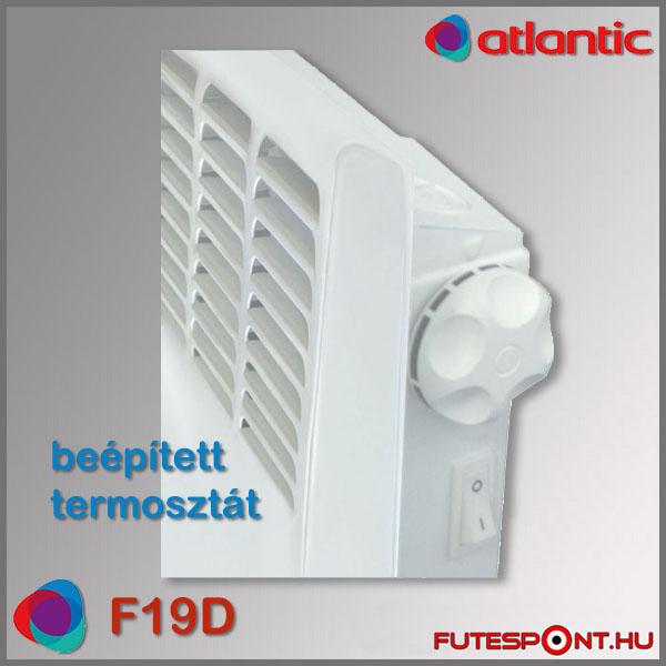 Atlantic F19D konvektor mechanikus termosztát