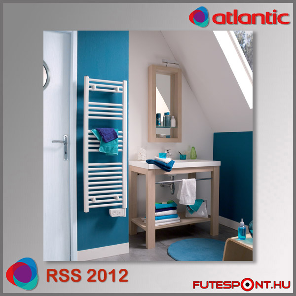 Atlantic RSS 2012 törölközőszárító radiátor termosztáttal